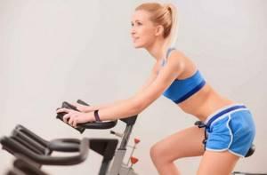 велотренажер для похудения живота